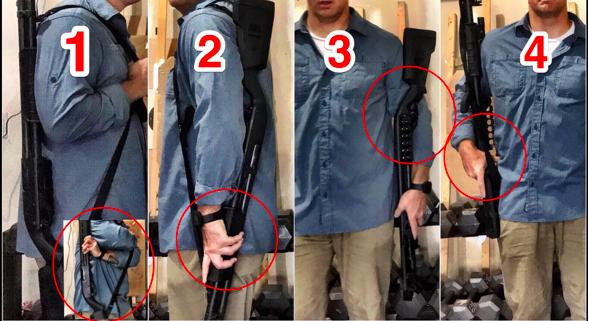 Shotgun Carry Positions